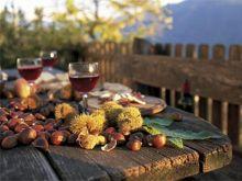 Kastanien und Wein (©Südtirol Marketing/Frieder Blickle)