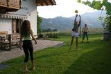 beim Ballspielen